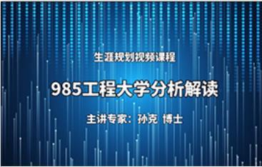 985工程大学解读