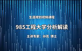 985工程大学分析解读